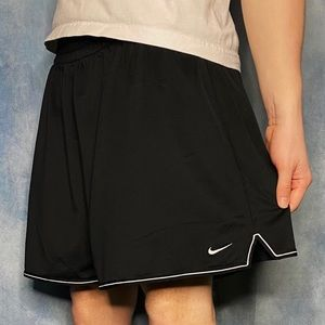 Nike Gym Shorts Black and White Color Way